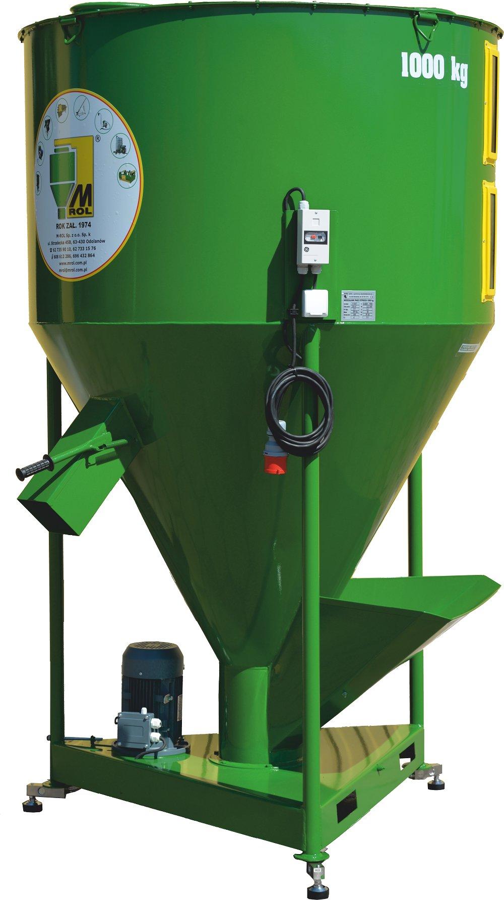Mixér krmiva 1000 kg výrobca M-ROL HIT