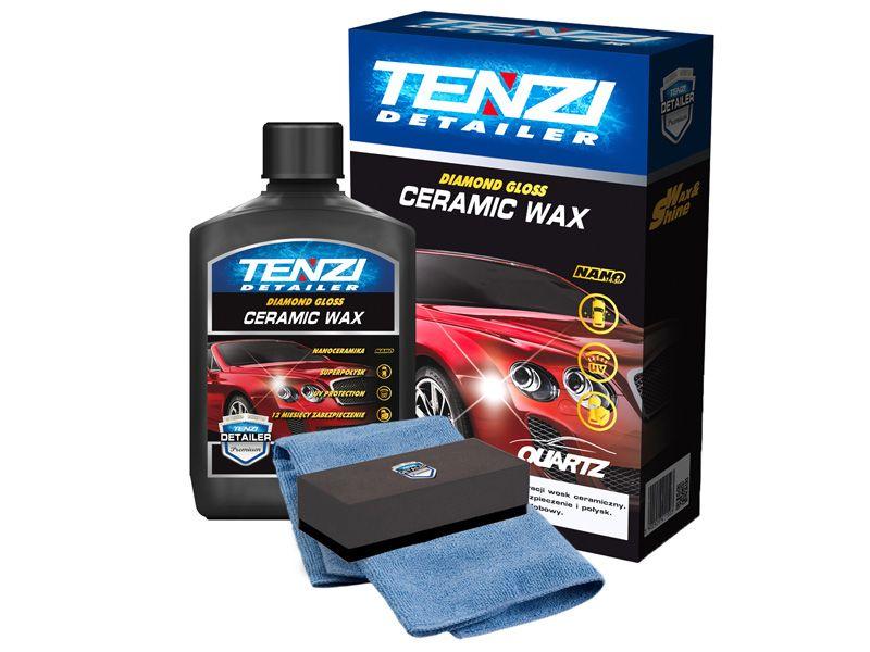 TENZI Detailer CERAMIC WAX aplikator mikrofibra