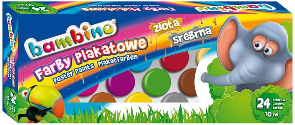 Купить St.Маевского краски: Bambino 24 кол 10мл на Otpravka - цены и фото - доставка из Польши и стран Европы в Украину.