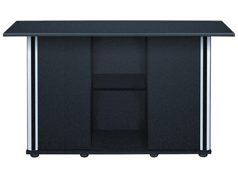 AQUAEL ALUDEKOR KABINETU 150x50cm čierne jednoduché