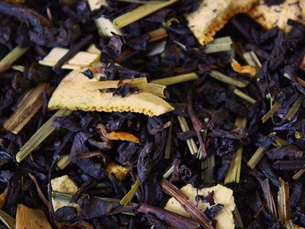 Herbata Pu-erh CZERWONA POMARAŃCZA pyszna! 50 g
