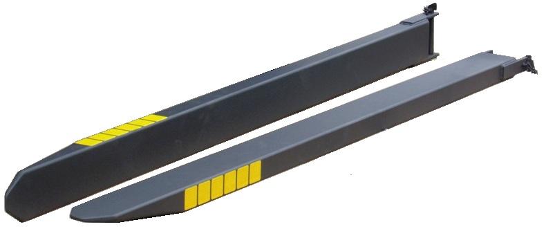 Удлинитель вилки 2400х140х70 с крышкой ATESTEM