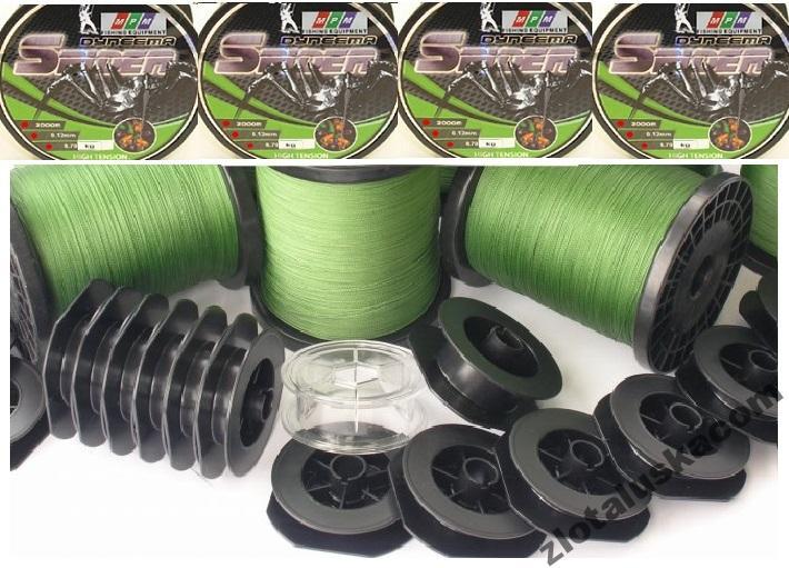 Predaj pletených 100% DYEMA 0,40 mm / 45,3 kg.!