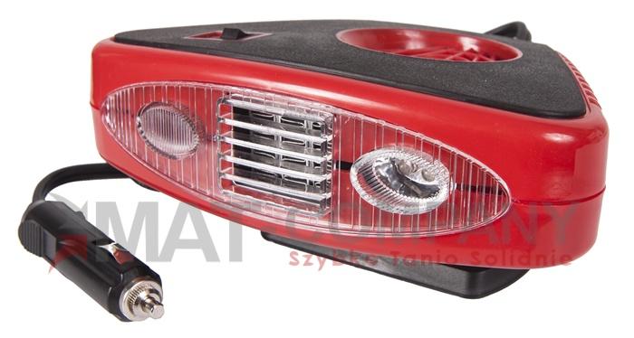 Обогреватель автомобильный вентилятор обогреватель 12в 200вт (фото 1) | Автозапчасти из Польши