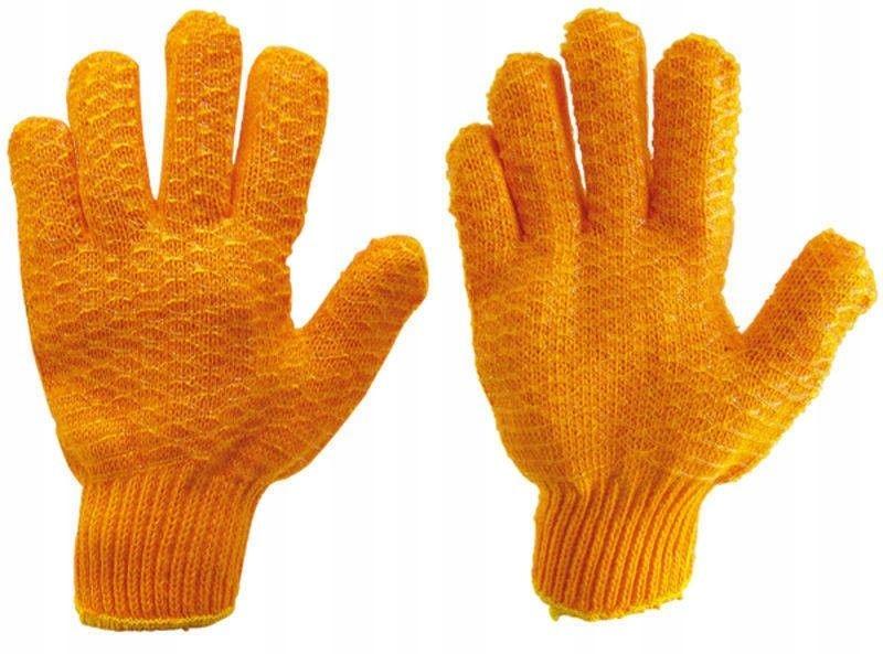 Rukavice pletené pre vankúš 10 Nemecká žula