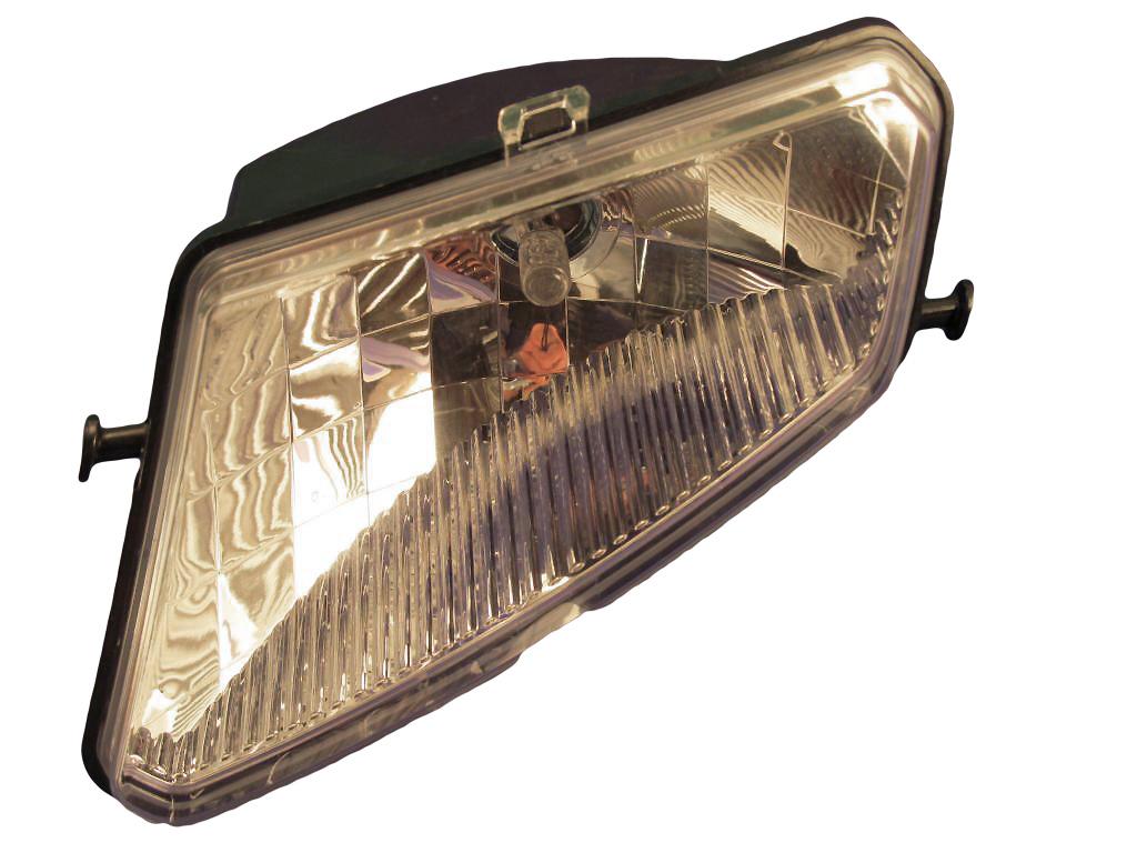 nauja zibintas (lempos-faros) +lempute priekinis laukasIS kaire.p.(kaires puses)