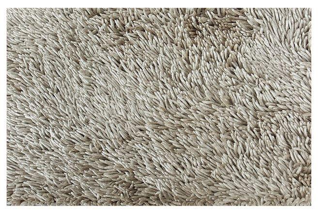Kúpeľňa koberec EuroFirany 60x90 Shaggy Béžová