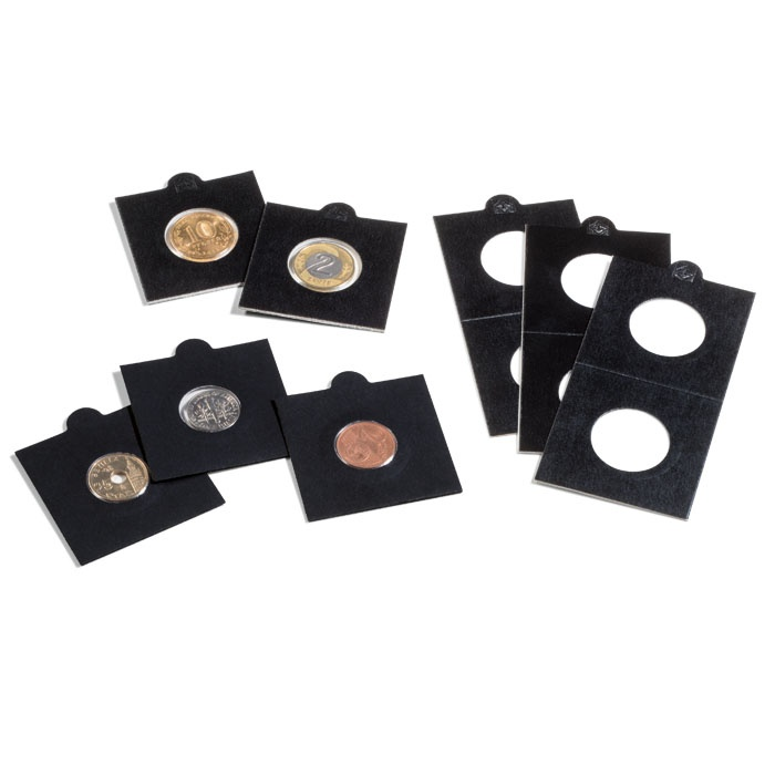 HOLDERY НА Монеты LEUCHTTURM 50 штук 25 черные