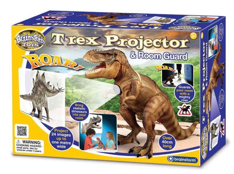 Na diaprojektor DINOSAURA T-Rex Izba Stráže Veľké