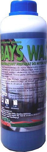 Picture of DAERG BAYS WASH - FOAM ACTIVE SNOW EFFECT 1L