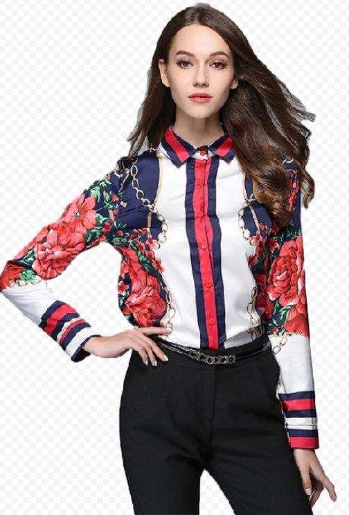 Tričko dámske Orientálna ornament vintage štýl, XL