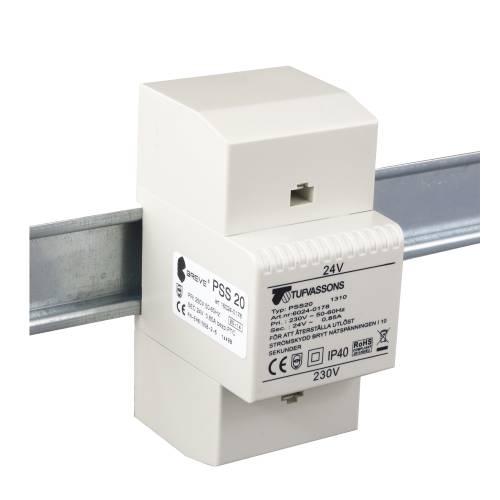 PSS 20 230 / 24V Ochranný transformátor pre DIN lištu