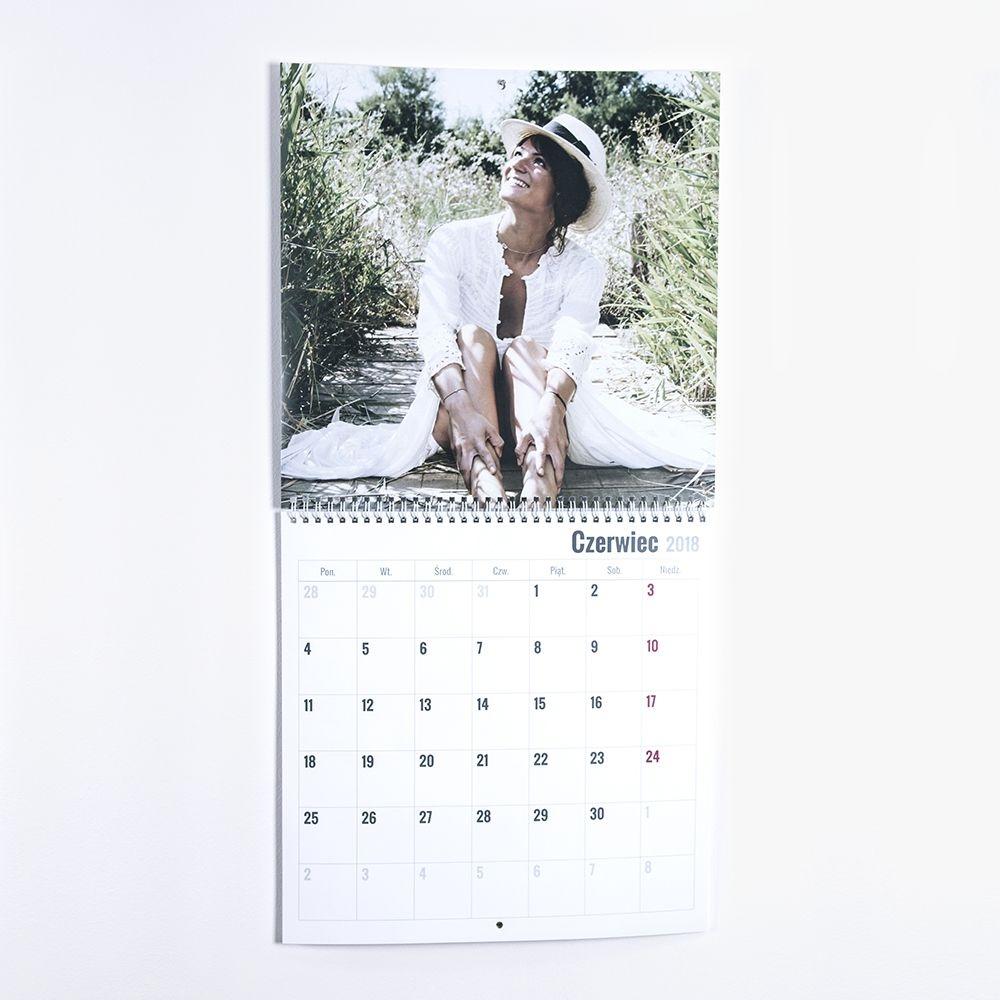 Fotokalendarz раскладной 20х20 с Вашей фотографией
