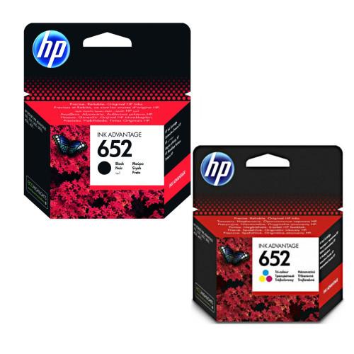 Купить 2 HP 652 Чернила 1115 2135 4535 3635 принтера DeskJet на Otpravka - цены и фото - доставка из Польши и стран Европы в Украину.