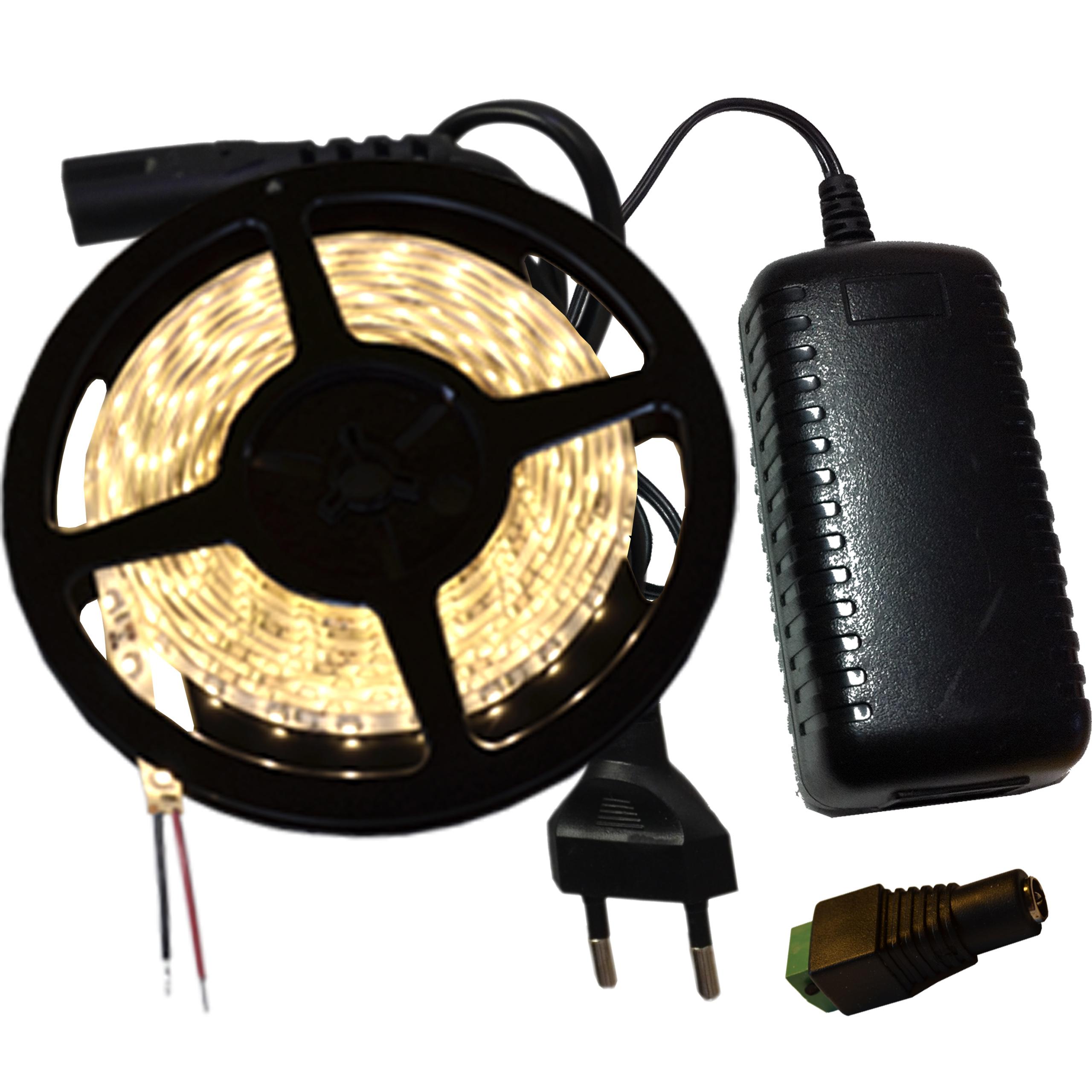 LED pásková súprava 3528 480 LED napájací zdroj 8m