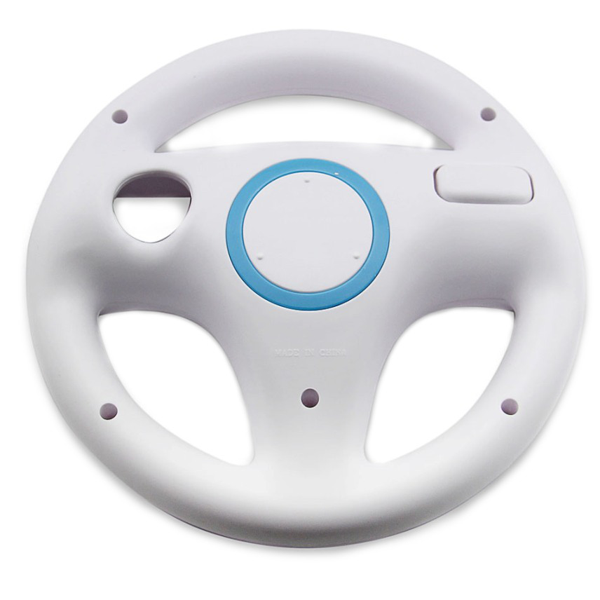 Item Steering wheel for Wii U and Wii, Mario Kart [WHITE]