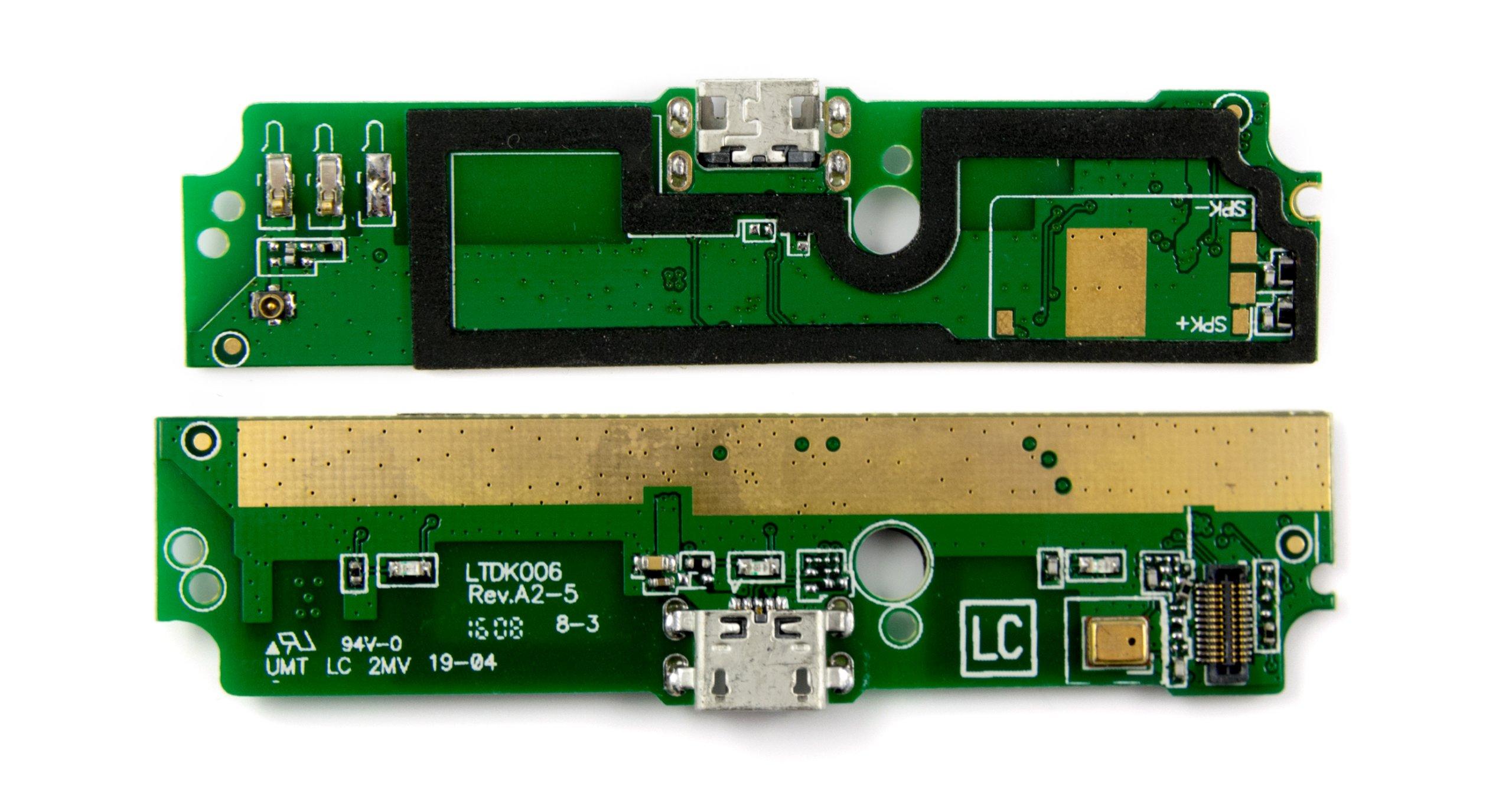 PŁYTKA GNIAZDO USB MIKROFON XIAOMI REDMI NOTE 3G