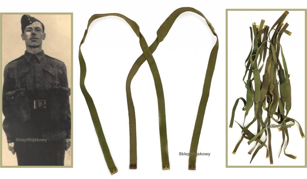 Org. Strava vzor 1937 Webové vybavenie Olive