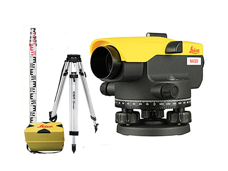 Optická úroveň Leica Jogger 24 Full Set!