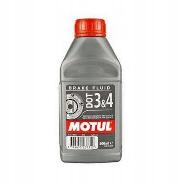 MOTUL DOT-4 DOT4 тормозная жидкость синтетическая 500мл