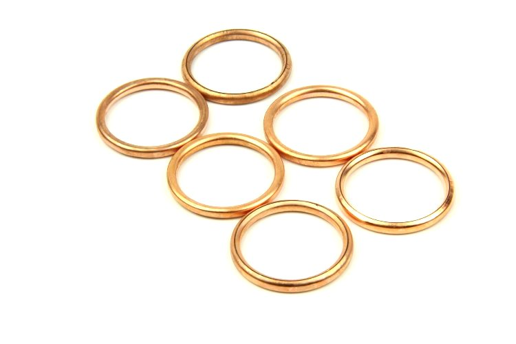 GASKET COPPER THE WHEEL TUBES WSK WFM SHL