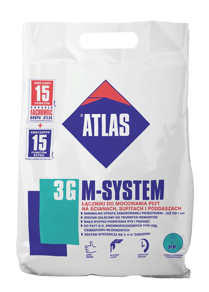 ATLAS M-SYSTEM 3 G 120 PP M8/FI 6,5L100 BX 21 SZT