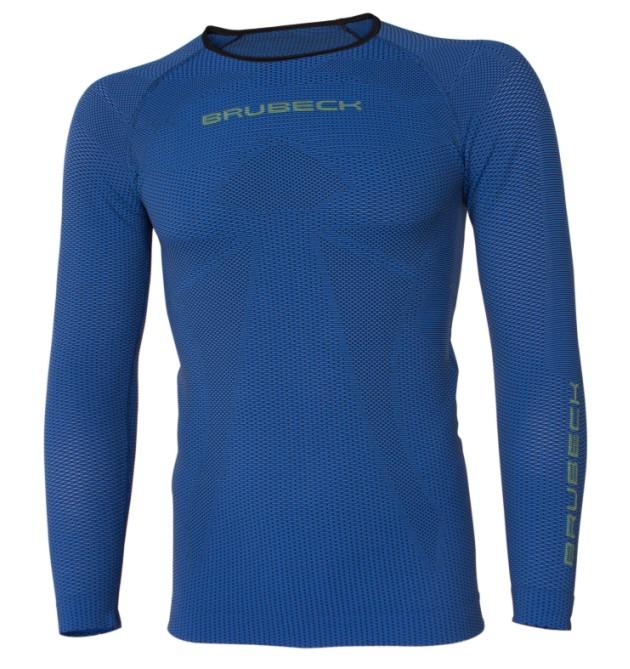 BRUBECK t-shirt DL. rukáv 3D Run PRO - M