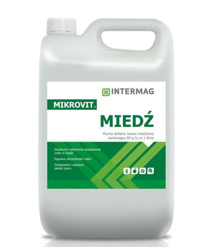 MIKROVIT МЕДЬ 5Л удобрение dolistny кукуруза свекла