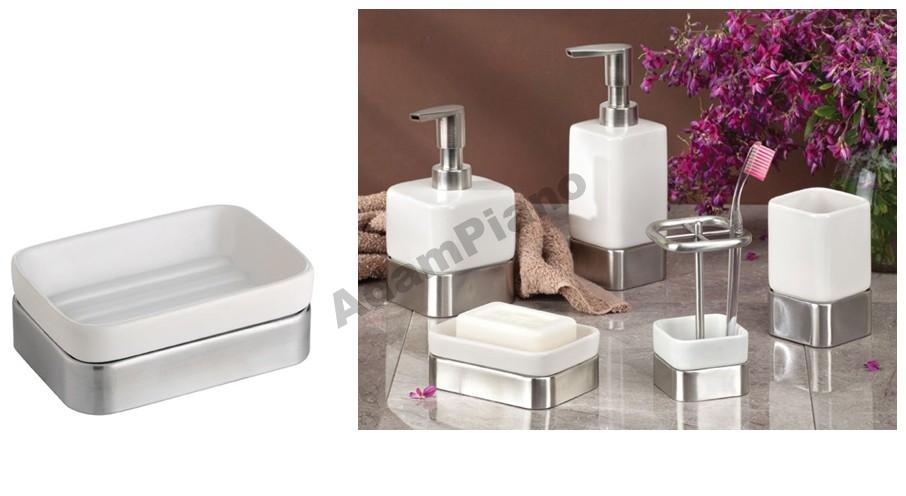 GIA interDesign SOAP POT USA biela keramika