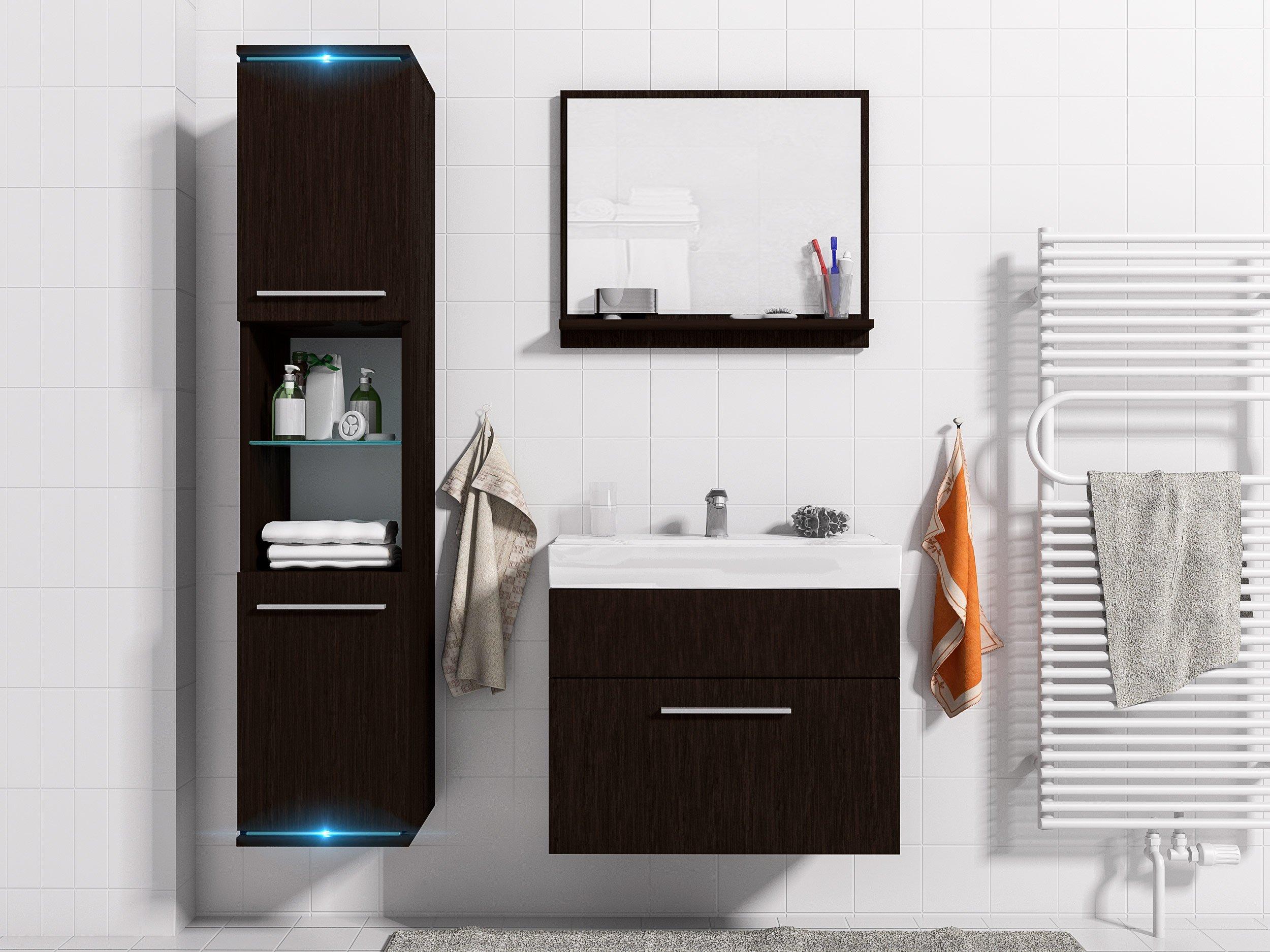 Kúpeľňový nábytok SOLO 1 LED MEBLINE lumi