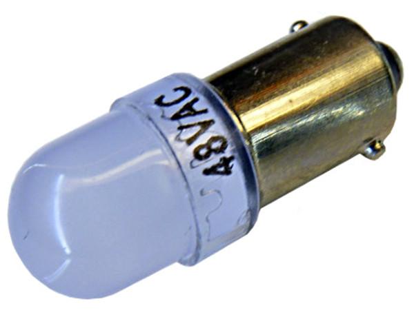 Светодиодная лампа Ba9s T4W для машин 48V AC MAT