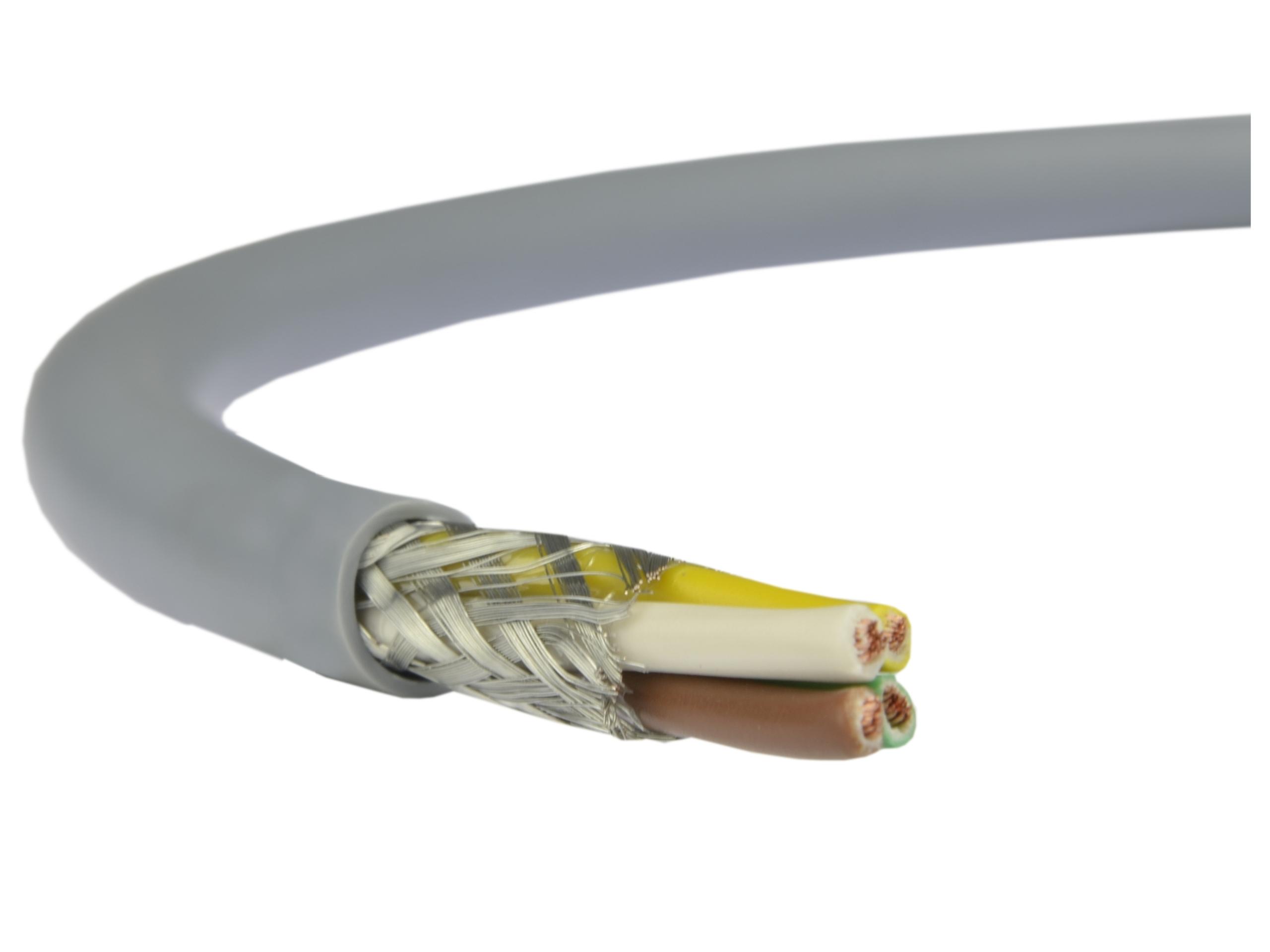 Káblový kábel v lokalite Liycy 4x0,34