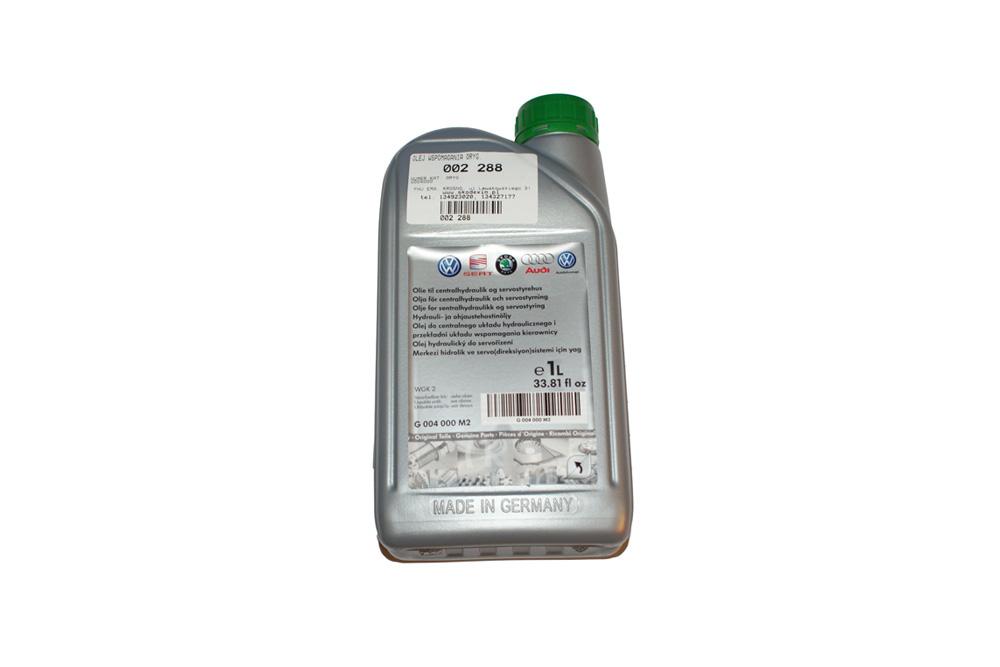 Масло жидкость для гидроусилителя SKODA ОРИГИНАЛ G004000M2