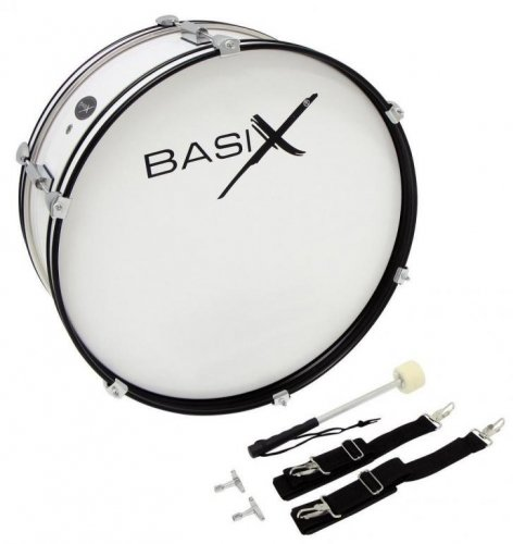 Pochodovanie Drum 22 ' X 07 ' Pałka + Basix Braces