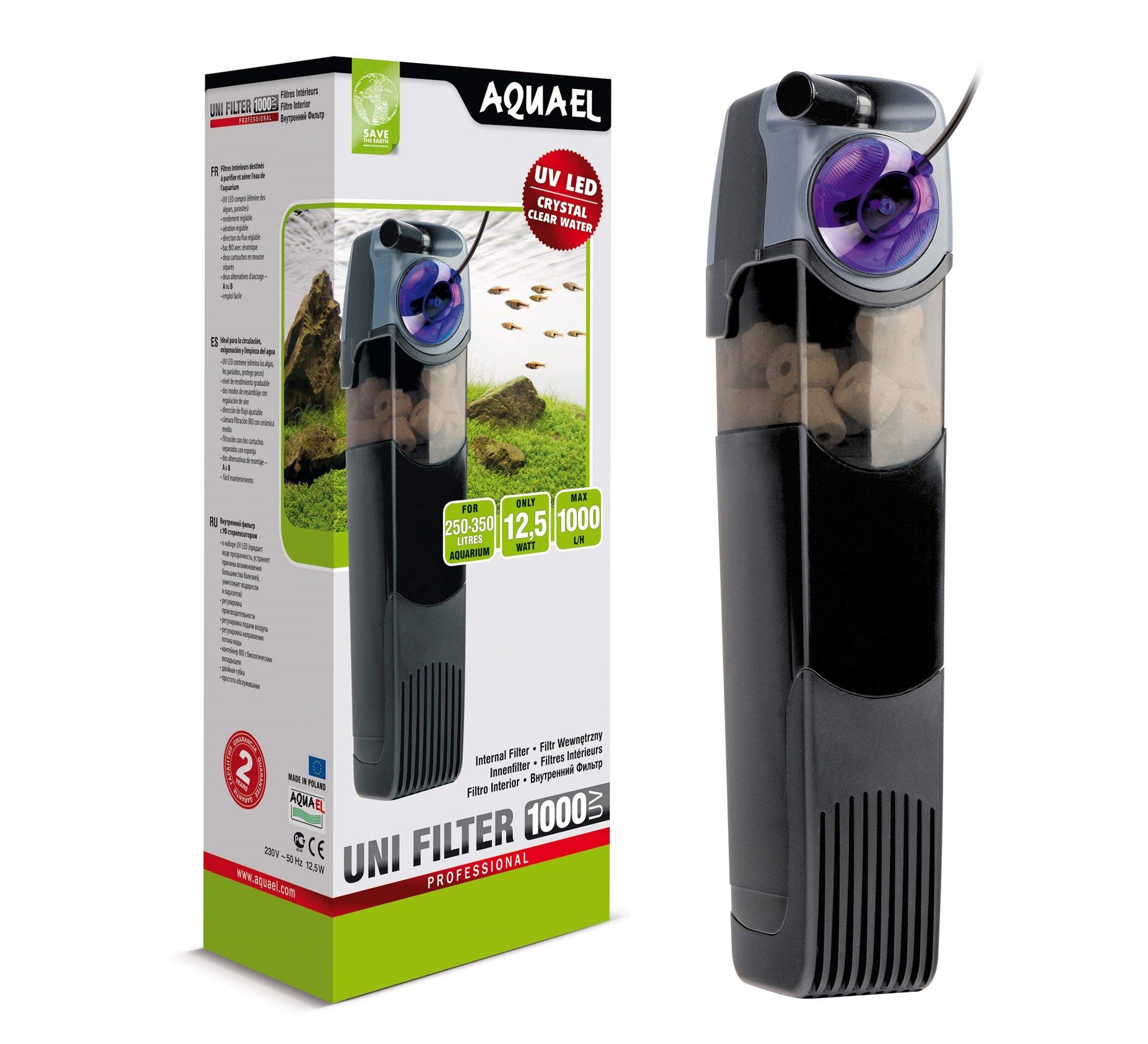 AQUAEL UNIFILTER 1000 UV vnútorný filter s UV
