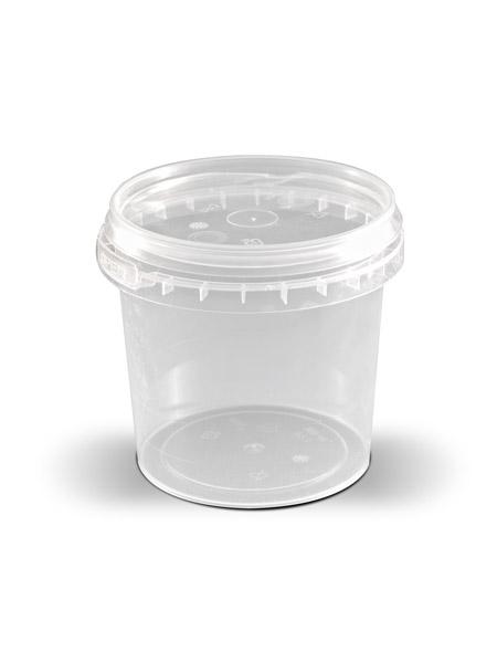 50 X T4W Ведро пластиковое с крышкой 0,365 л
