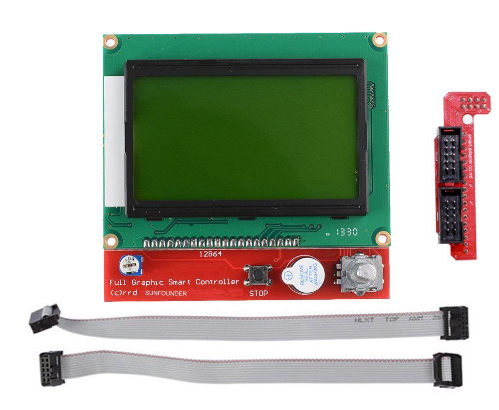 LCD 12864 Controller Grafické rampy 1.4 SD Reader