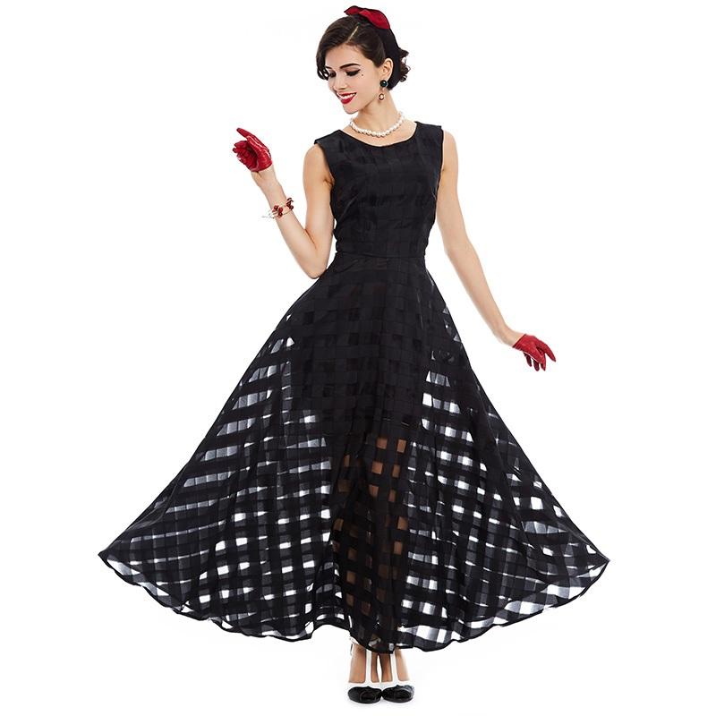 Čipky šaty retro vintage prześwitująca HIT H