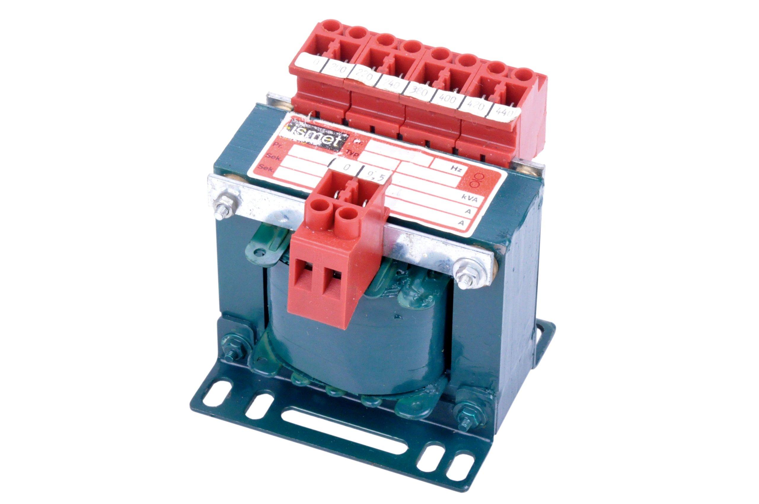 Ismet transformátor 200-440 V / 9,5V, 63 VA, 6.6 A