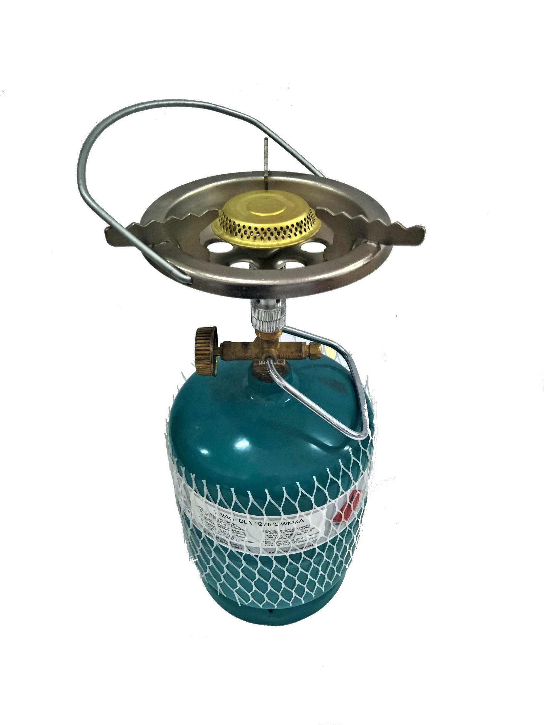 Plynový sporák Veľké Turistické+Valec Propán 1 kg