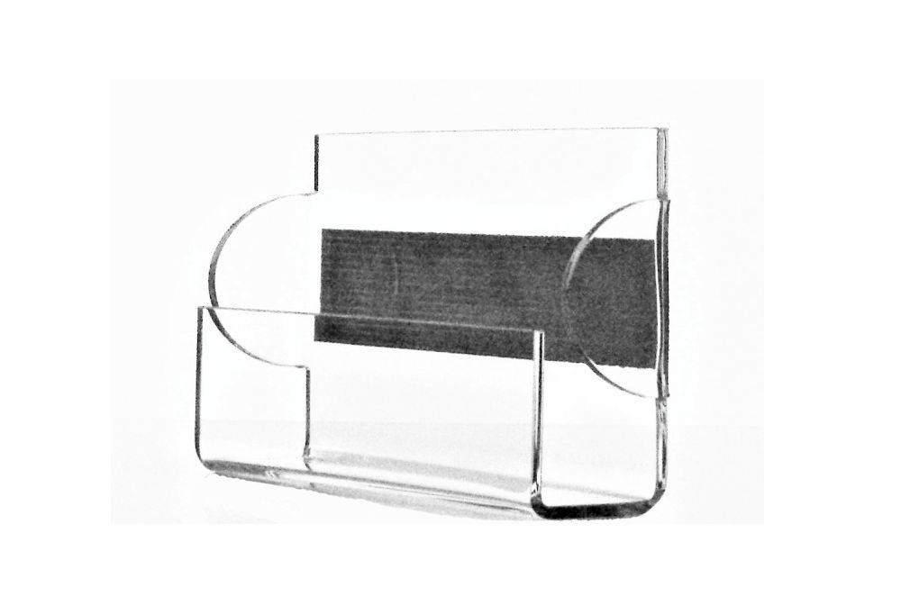 Item Stand for business cards, business card HOLDER Plexiglass-SUSPENDED