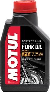 Motul Fork Oil 7.5 В Factory Line Light/Medium 1Л