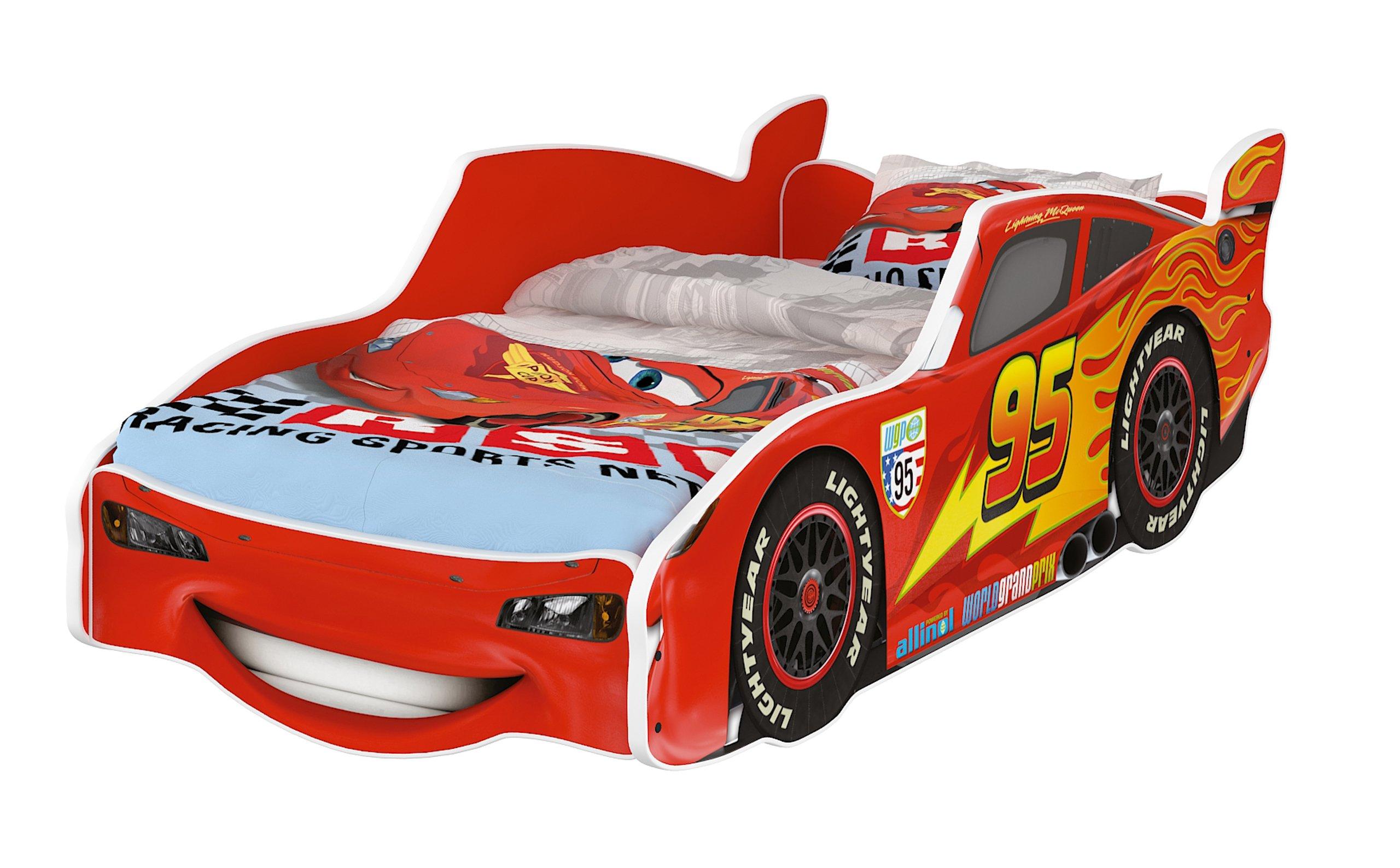 АВТО кровать детское автомобиль 160x80 Дисней мат .