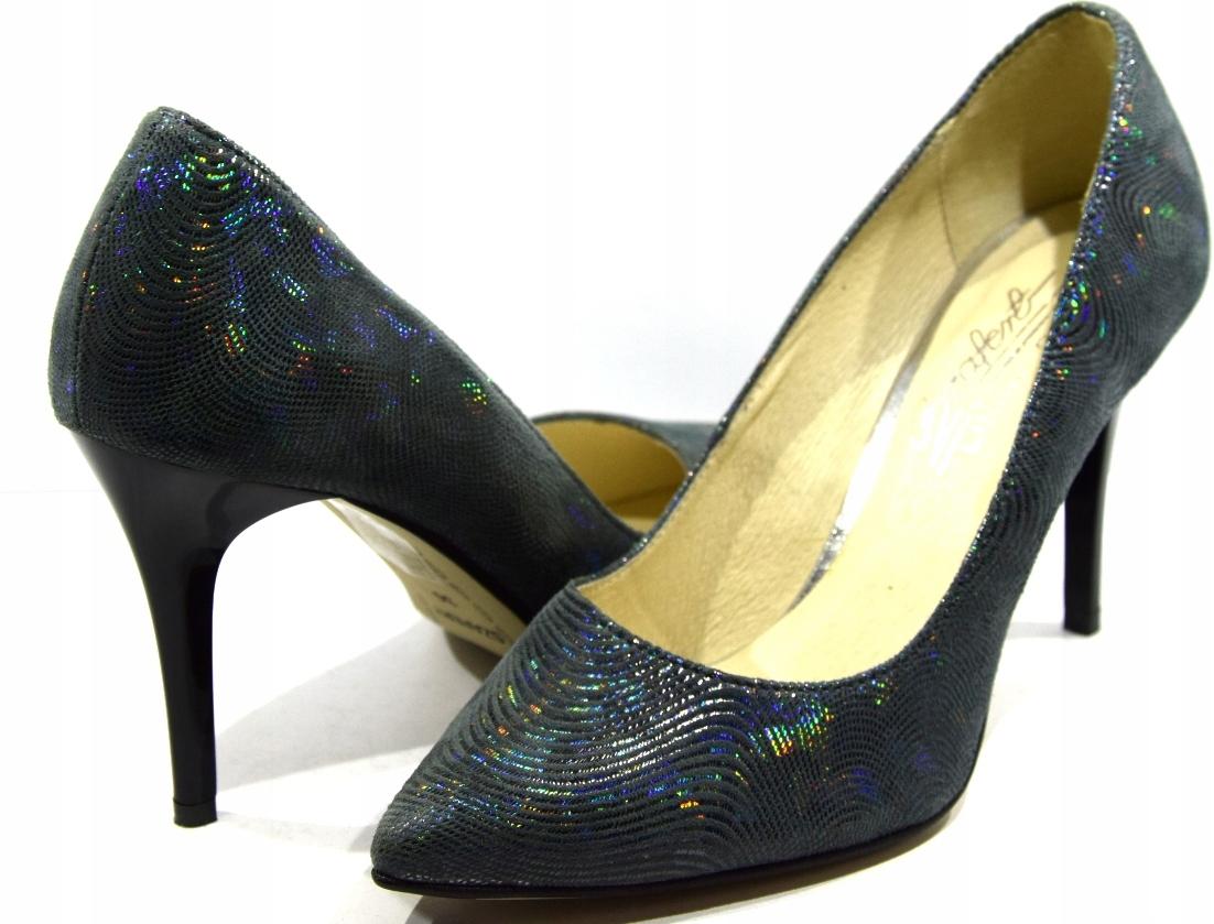 Obuwie damskie czółenka buty modne wygodne 278 R40