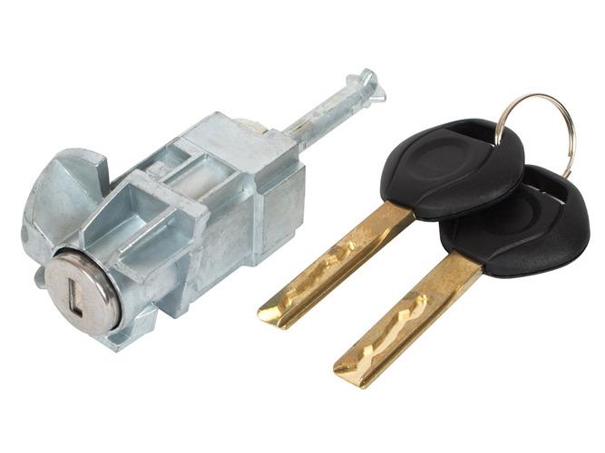 замок вставка замка вперед слева + ключи bmw 3 e46