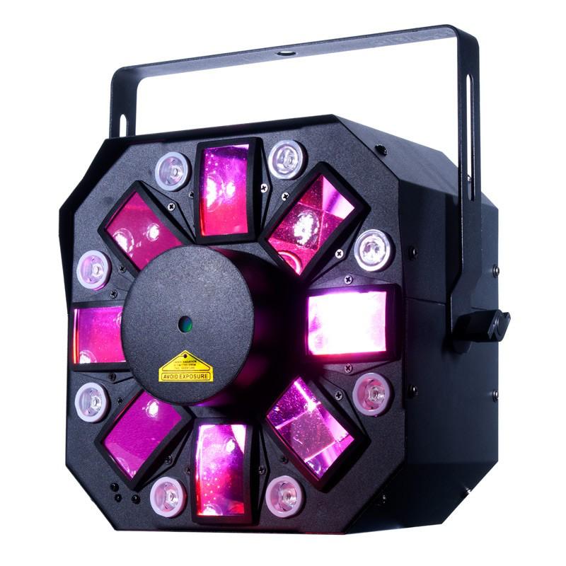 Stringer II Svetlo svetlometov 3IN1 + UV + LASER