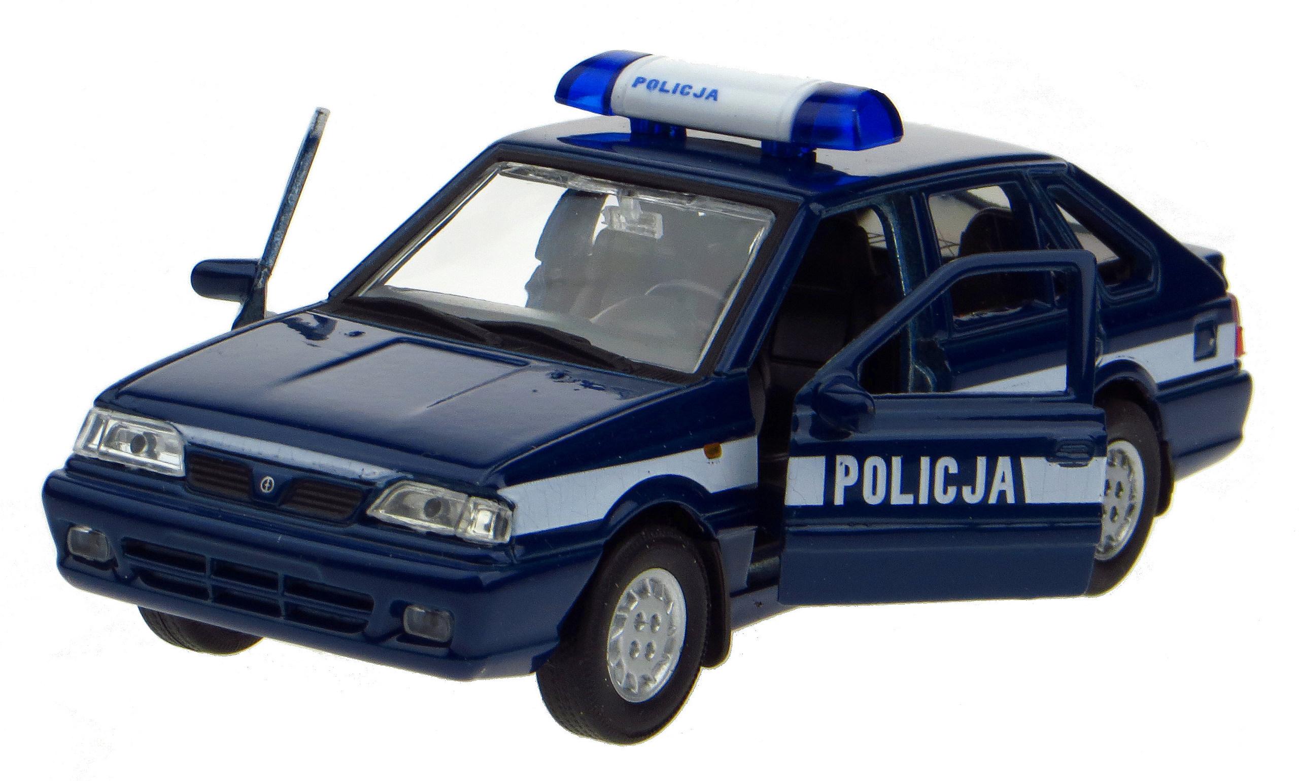 FSO Polonez Caro plus polícia Welly Model 1:34