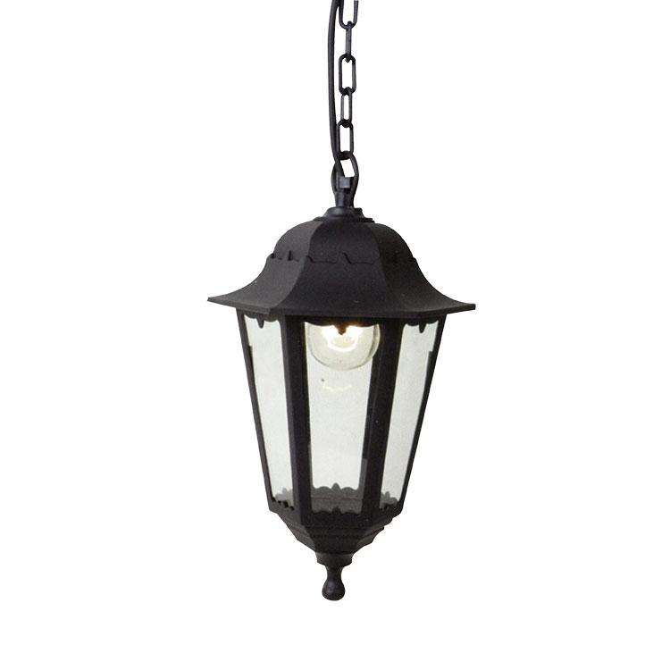 Záhradná lampa závesná vonkajšia lucerna