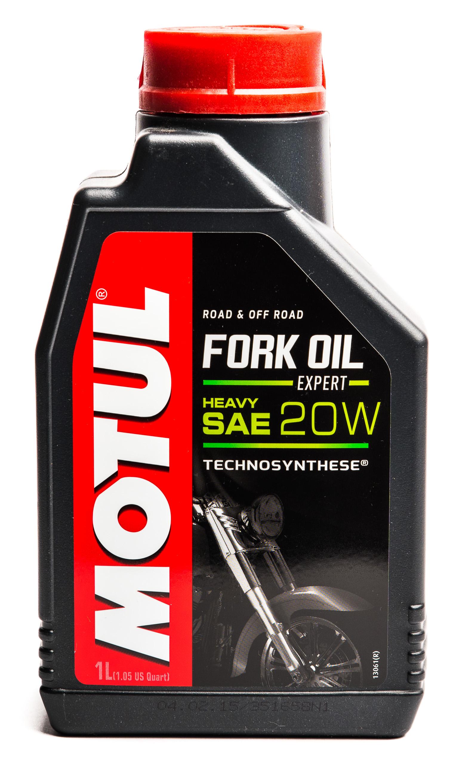 MOTUL Fork Oil 20W - масло для амортизаторов, лаг 1Л