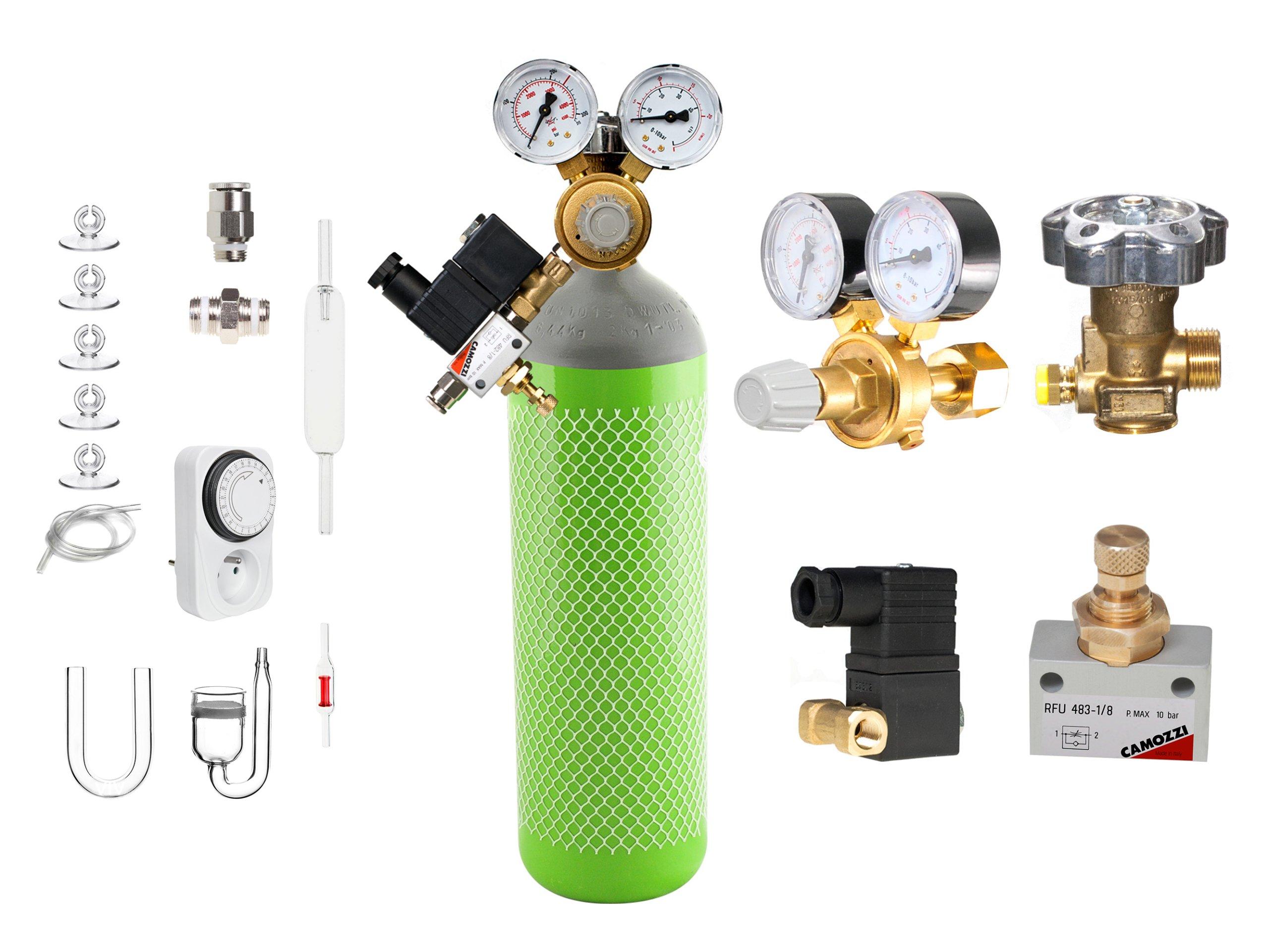 AQUA-PLANTER PASSION zestaw CO2 z butlą 1,5kg/2,1l